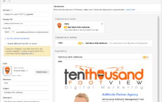Gmail ad sample