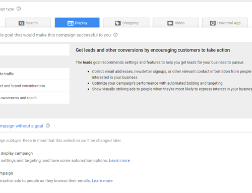 New Gmail Ads Remarketing Campaigns
