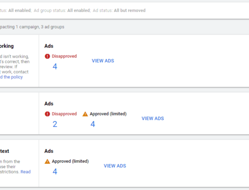 How to Fix Google Ads Disapprovals